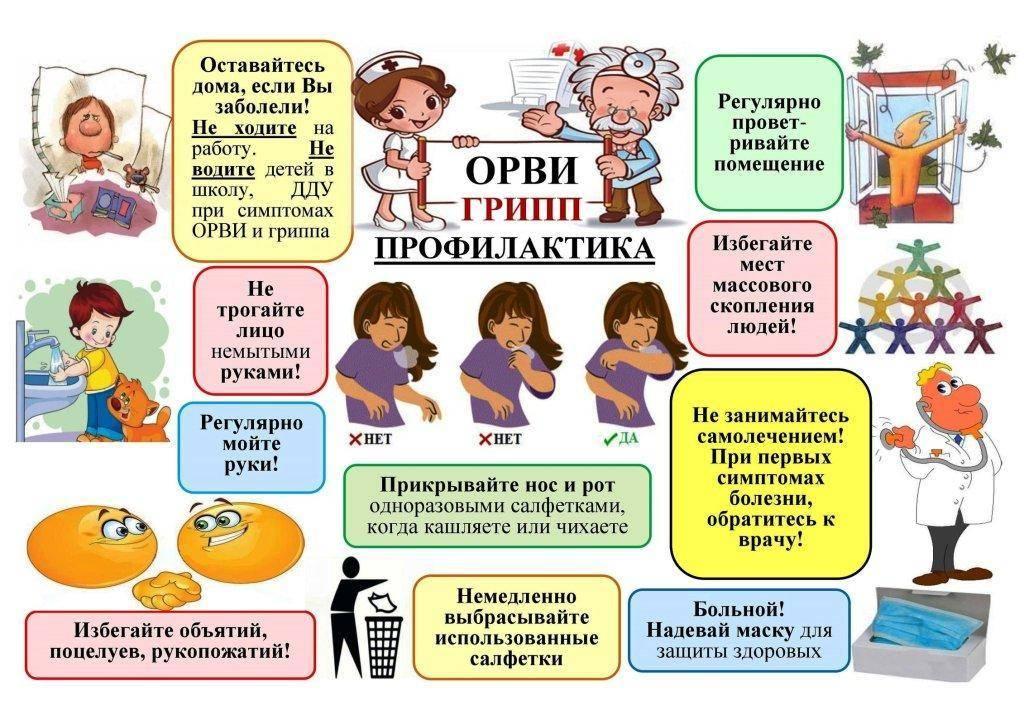 Профилактика орви: адаптация к детскому саду и школе в период межсезонья