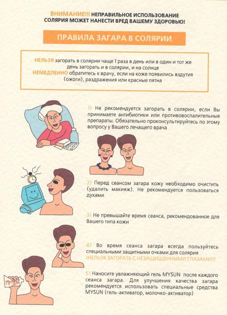 Солярий после родов: можно ли и когда ходить в солярий