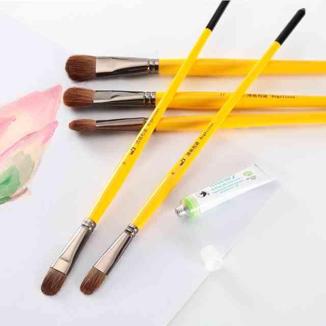 Каких видов и форм бывают кисточки для рисования и как их выбрать?