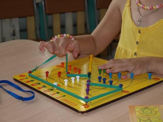 Мастер-класс «развивающие игры в. в. воскобовича»