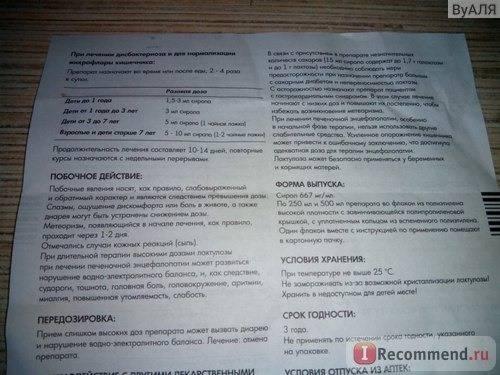 Лактулоза сироп