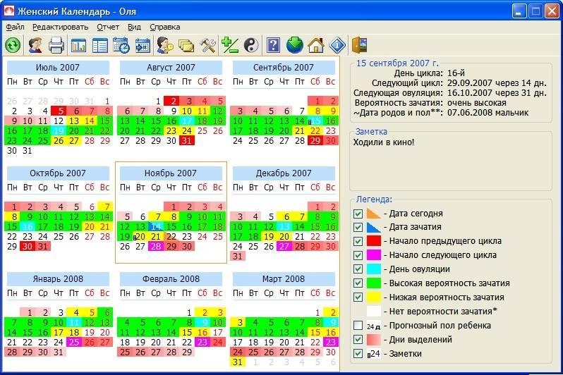 Калькулятор овуляции - рассчитать календарь