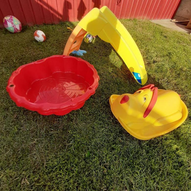Песочница для детей на дачу или для сада – какую лучше купить, и как обустроить для игр