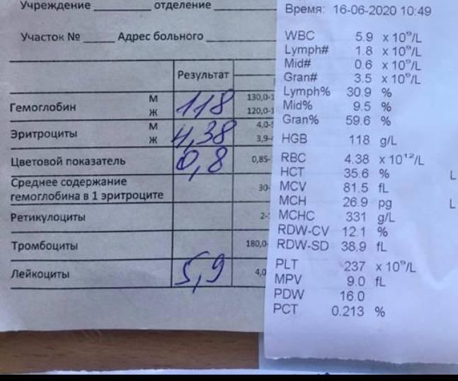 Биохимический анализ крови - расшифровка и нормы показателей