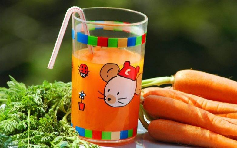 С какого возраста можно давать морковный сок грудничку