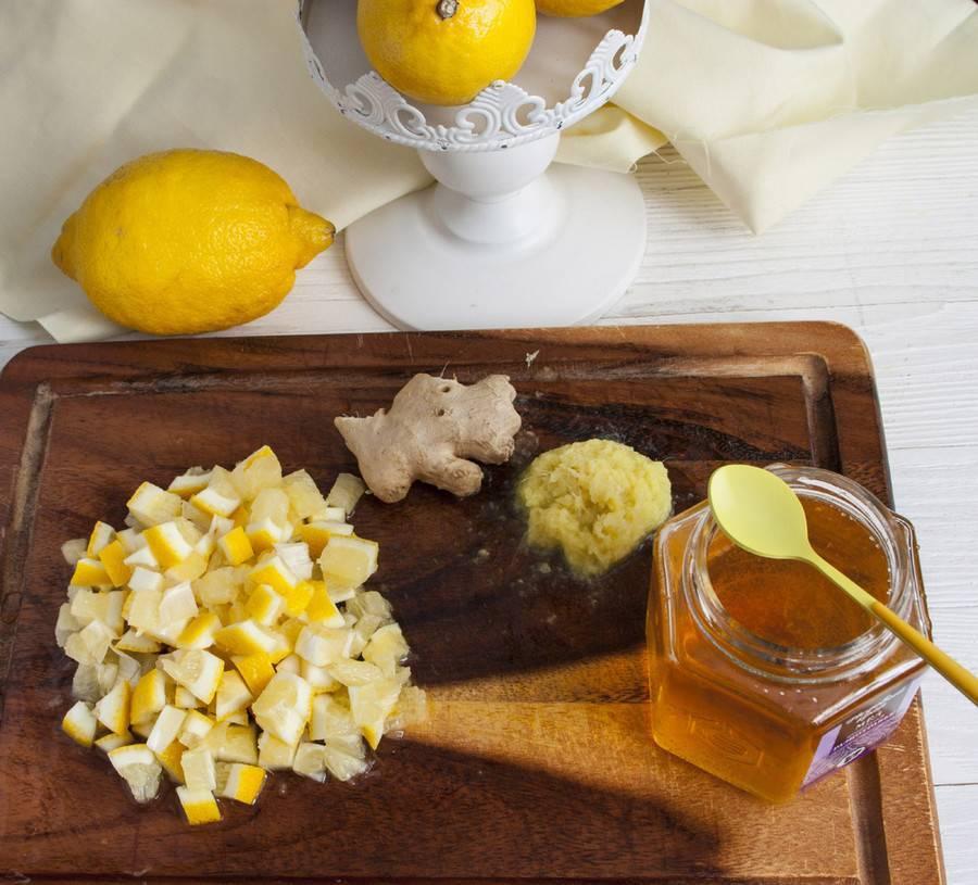 Имбирь с лимоном и медом для стройности и иммунитета