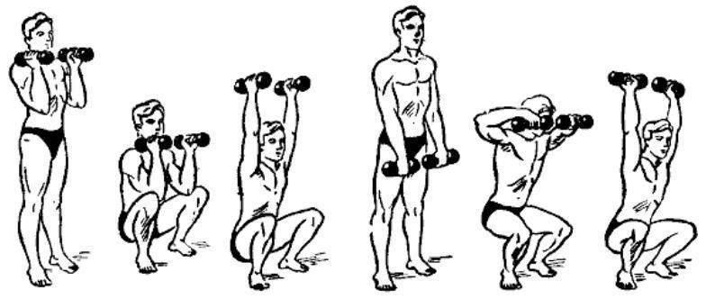 Упражнения с гантелями для детей