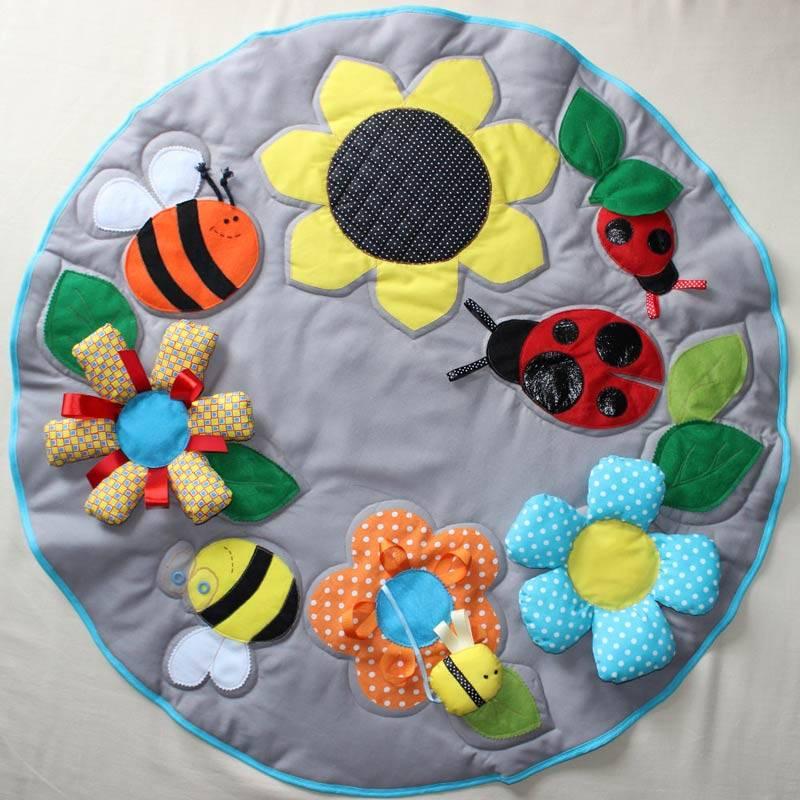ᐉ как сделать самому развивающий коврик для малыша. делаем развивающие коврики своими руками ✅ igrad.su