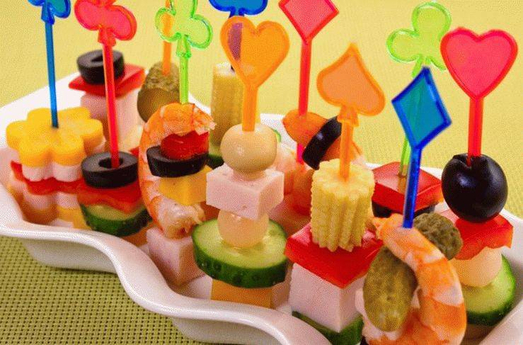 Меню на день рождения ребенка на 2 года (30 фото): детский стол на 1-3 года