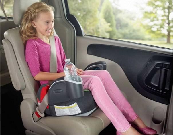 Бустеры для детей в машину: правила выбора и особенности эксплуатации