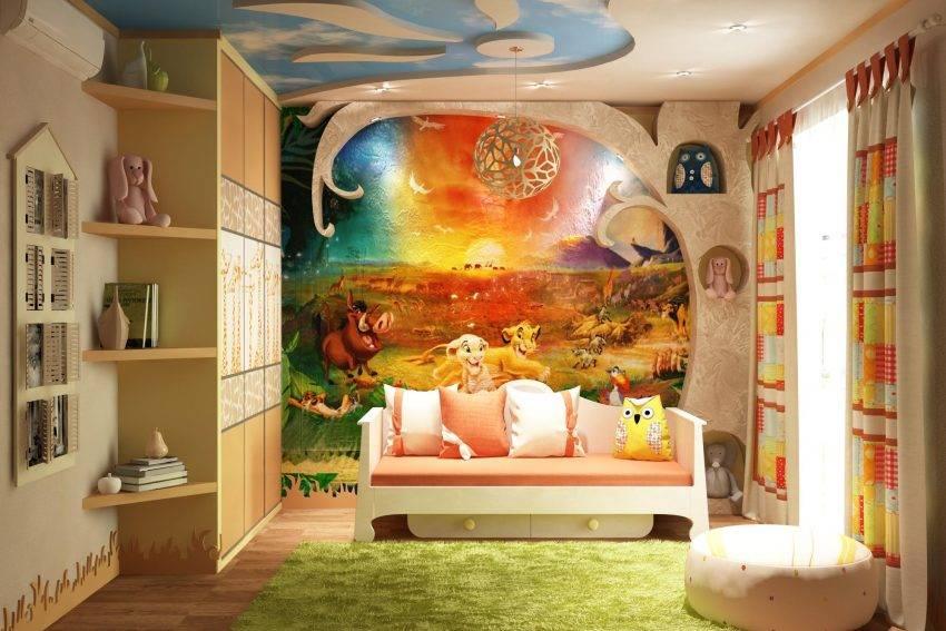 Детские обои 3d (49 фото): обои на стену в комнату для мальчиков