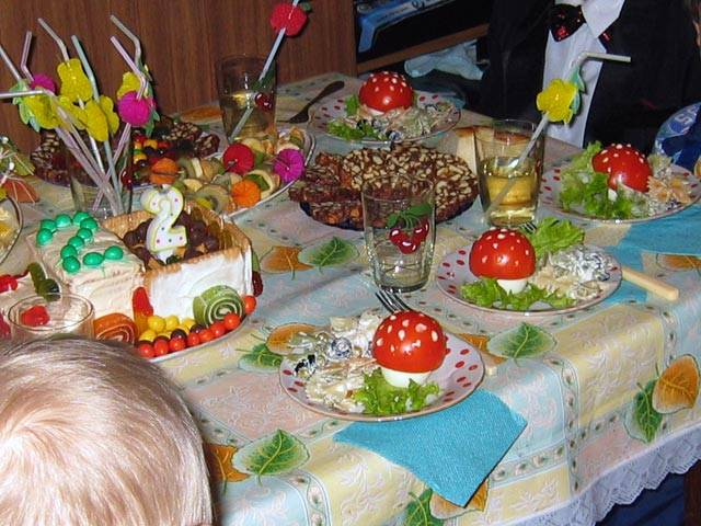 Что приготовить на день рождения детям? меню для детского праздника