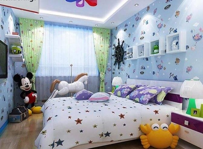 Какие фотообои выбрать для детской комнаты для мальчика и девочки подростка – обзор