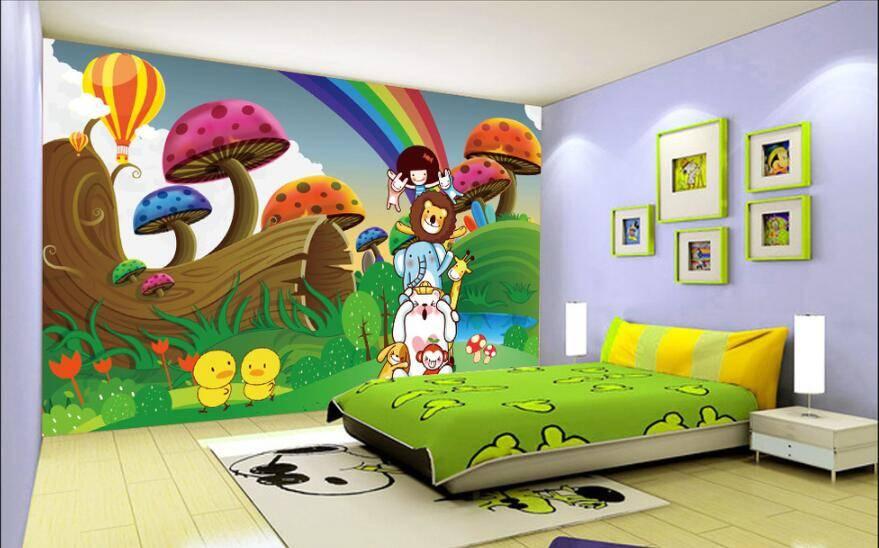 3д обои для маленькой комнаты