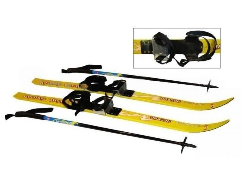 Как выбрать лыжи для детей