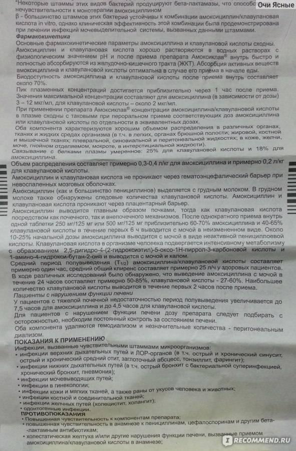 Амоксиклав® квиктаб (amoksiklav® quicktab)