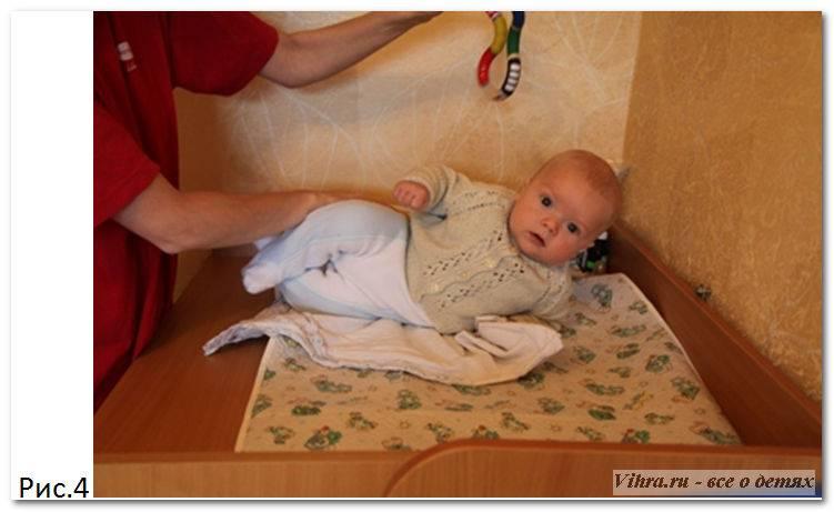 Как научить ребенка переворачиваться: на живот, на спину, специальные упражнения