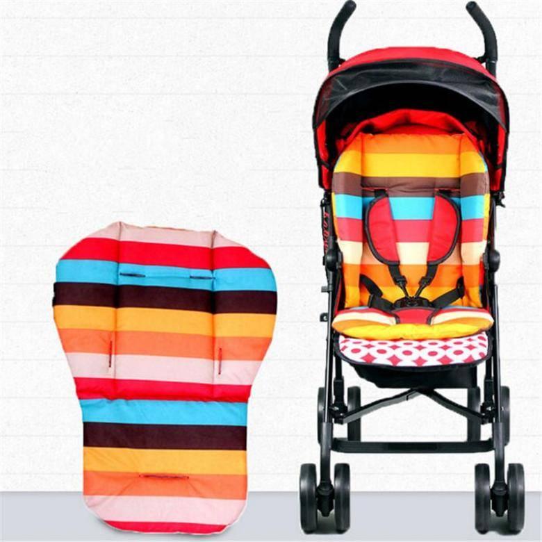 Виды матрасов в коляску для новорожденных