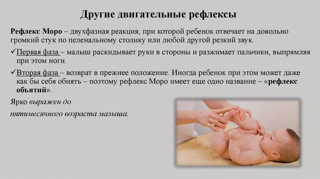 Врождённые физиологические рефлексы