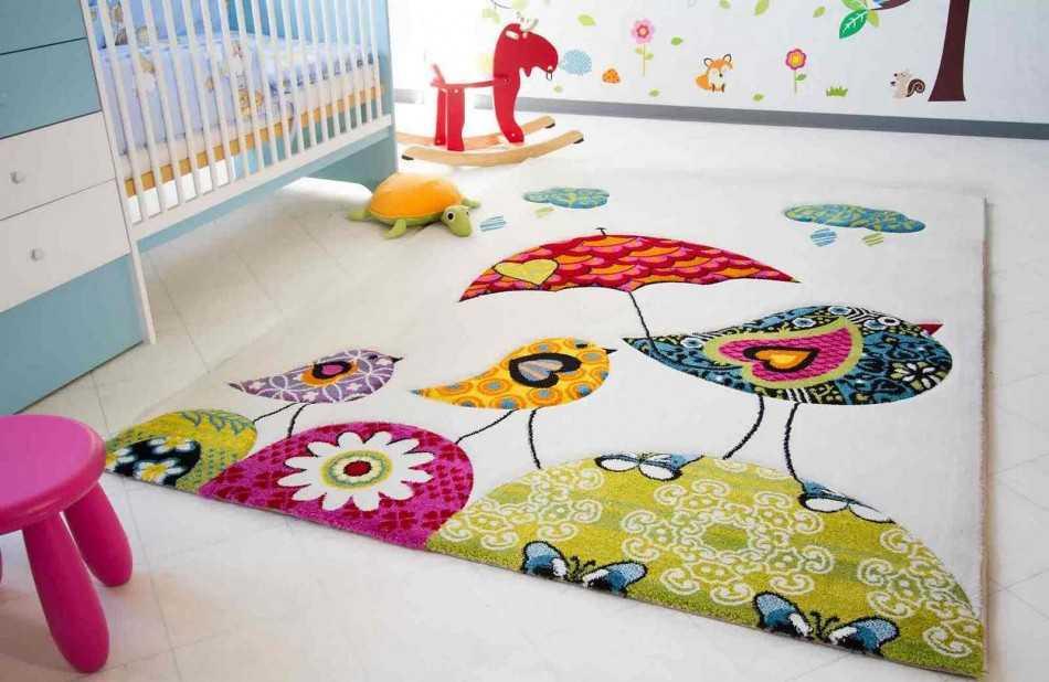 Как выбрать ковролин в детскую комнату