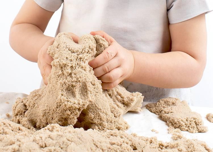 Кинетический песок: что такое, где купить, как сделать kinetic sand в домашних условиях