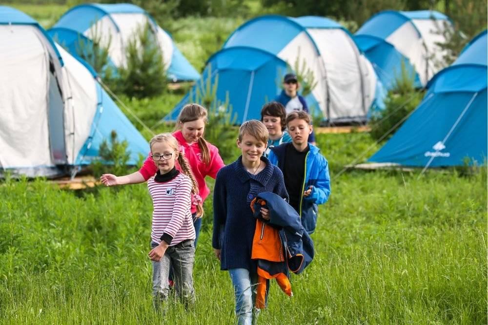 Патриотические детские лагеря