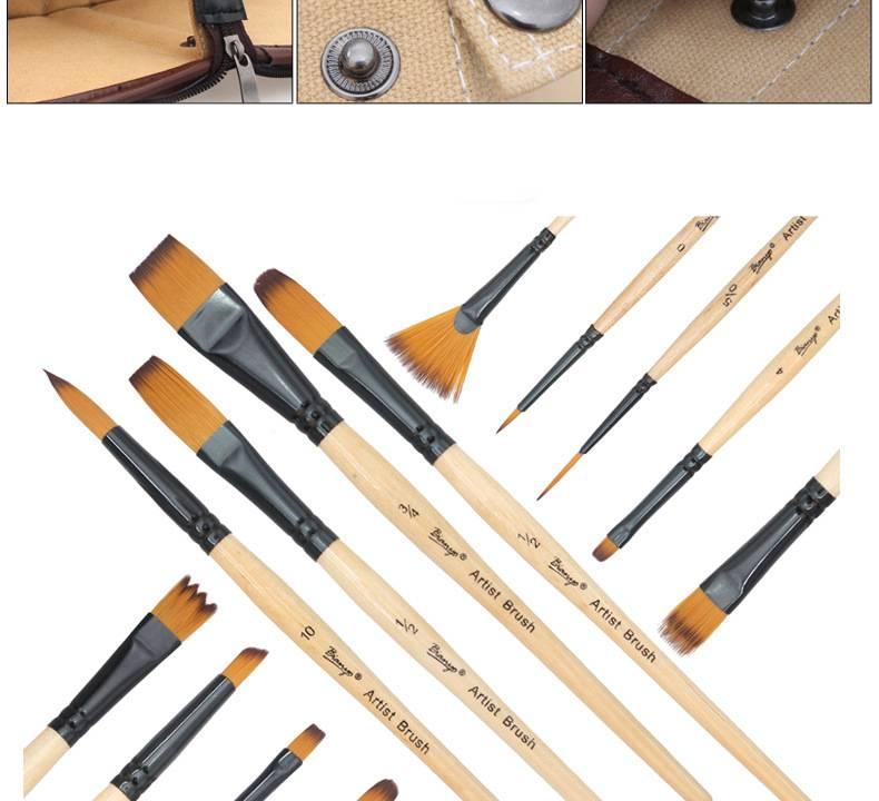 Кисти для акварели: какие водяные акварельные инструменты лучше, китайские кисточки для сухой лессировки