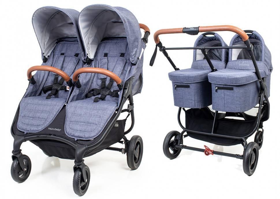 Обзор лучших колясок для двойни в 2021 году