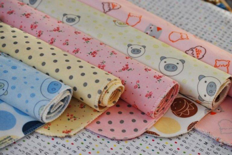 Как сшить пеленки для новорожденного: руководство для мам