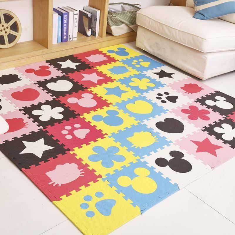Детский ковер с дорогами: коврик с дорожной разметкой для машинок в комнату для мальчика