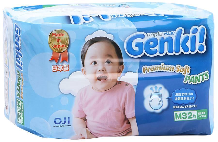 Обзор подгузников genki | блог дочки-сыночки