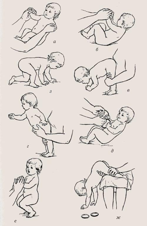 Массаж и гимнастика ребенку в возрасте 3-4 месяцев