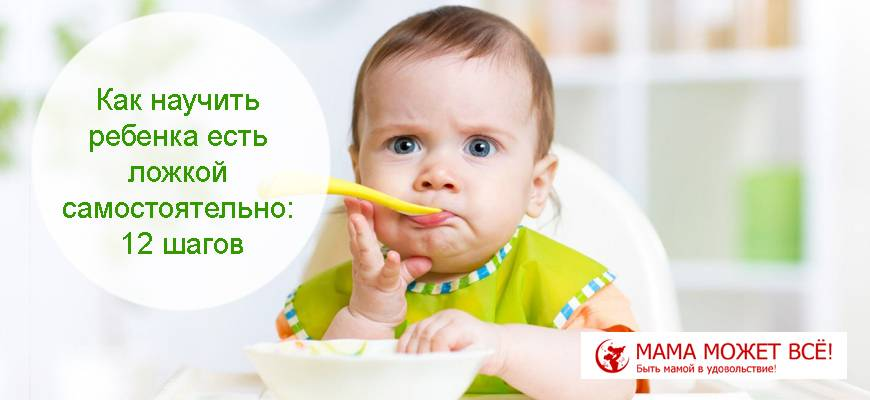 Учим ребенка кусать пищу