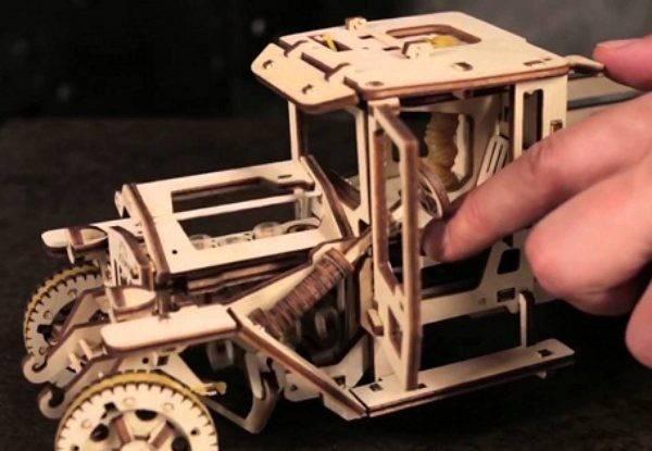 Деревянные конструкторы Ugears: особенности и разновидности