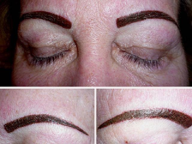 Перманентный макияж бровей: противопоказания
