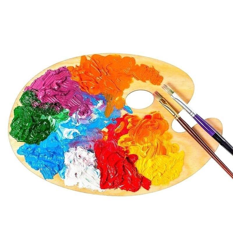 Краски для рисования: виды и область их применения (+25 фото)