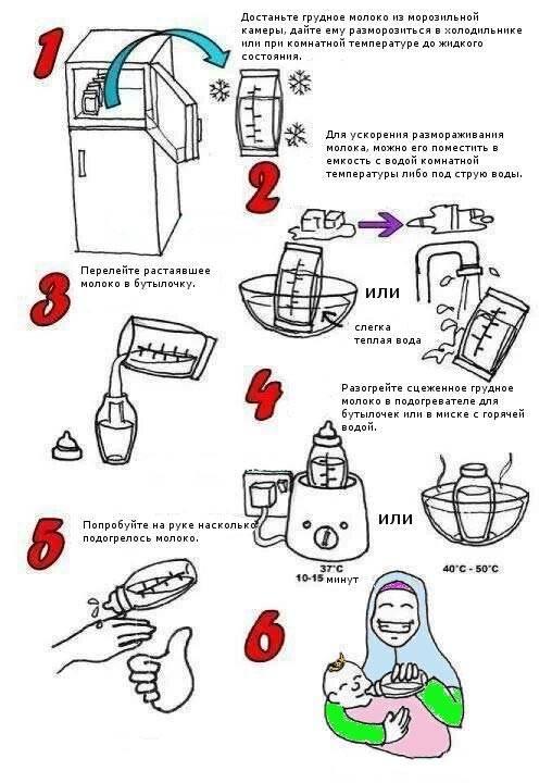Как хранить сцеженное грудное молоко - wikihow