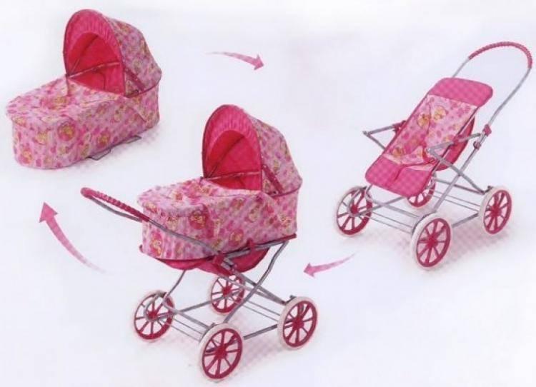 Сравниваем игрушечные коляски для кукол: glamour vs rich toys