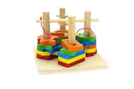 Деревянные игрушки - лучшие модели для развития детей всех возрастов