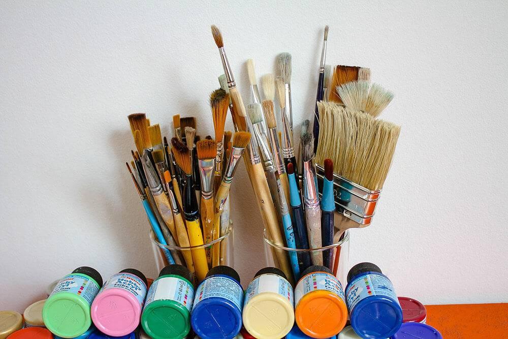 Как выбрать кисть для рисования по типу щетины?