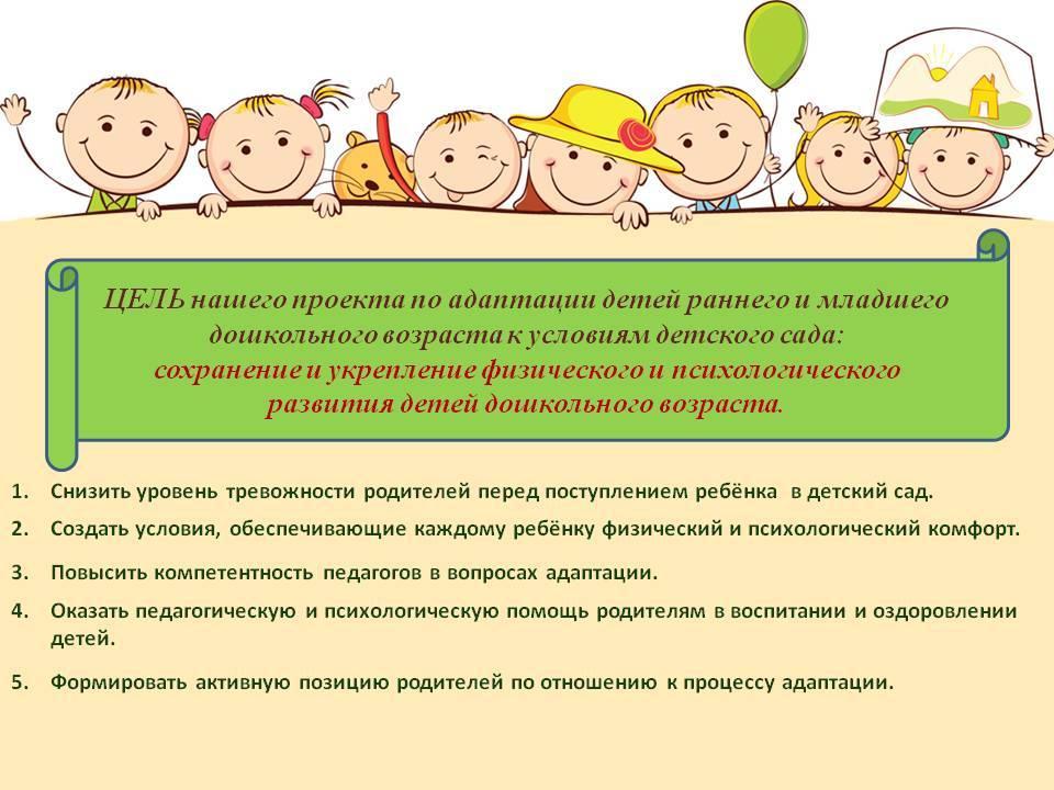 Адаптация ребенка в детском саду   компетентно о здоровье на ilive