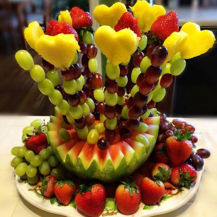 Как красиво выложить фрукты на тарелку: фото, рекомендации, советы