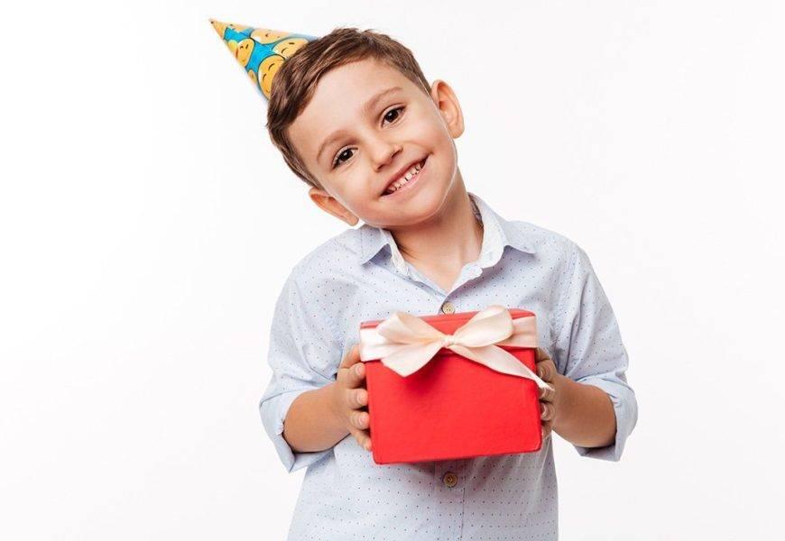Что можно подарить мальчику на 4 года?