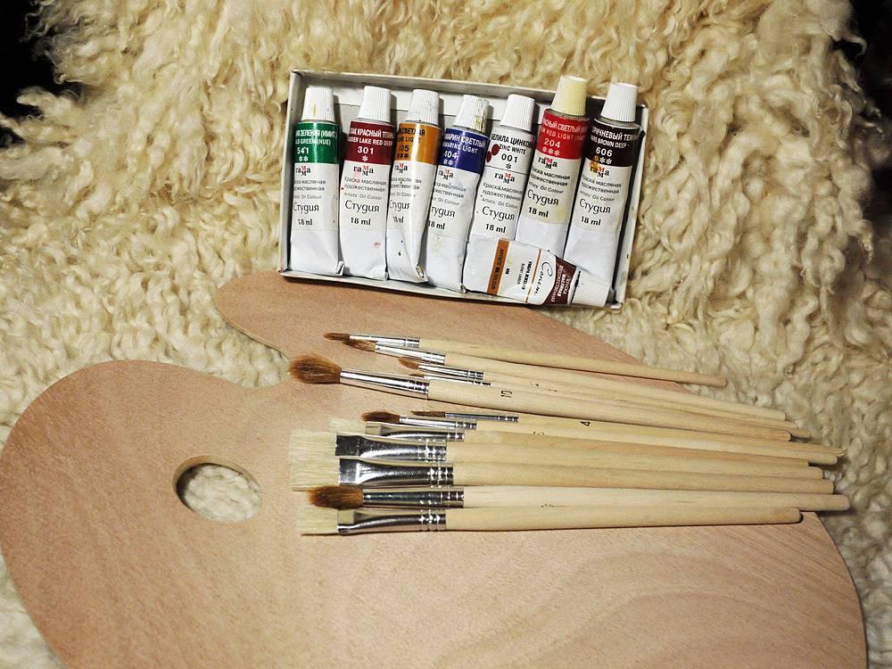 Акриловые краски для рисования (75 фото): художественный набор для декупажа с перламутровыми и флуоресцентными, золотыми и белыми красками