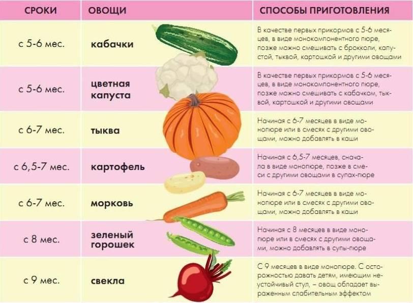 Пюре из цветной капусты для грудничка: рецепт прикорма