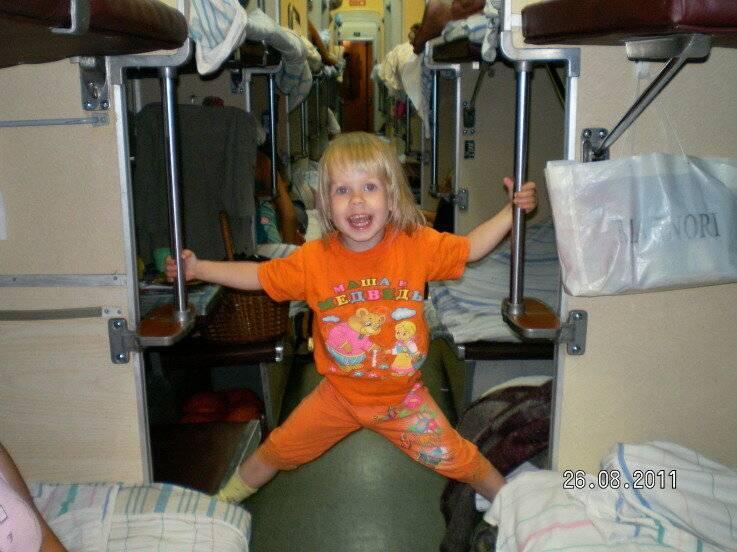 Сопровождение ребенка в поезде