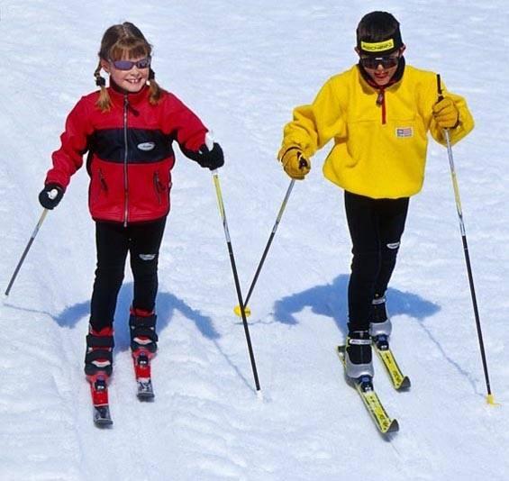 Как выбрать лыжи детям по росту. как правильно выбрать лыжи для ребенка?