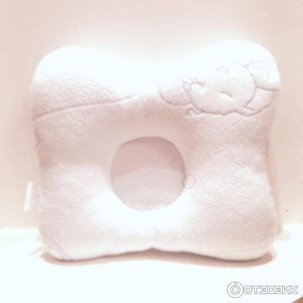 Ортопедическая подушка для новорожденных при кривошее: виды, наполнитель, производители, цена