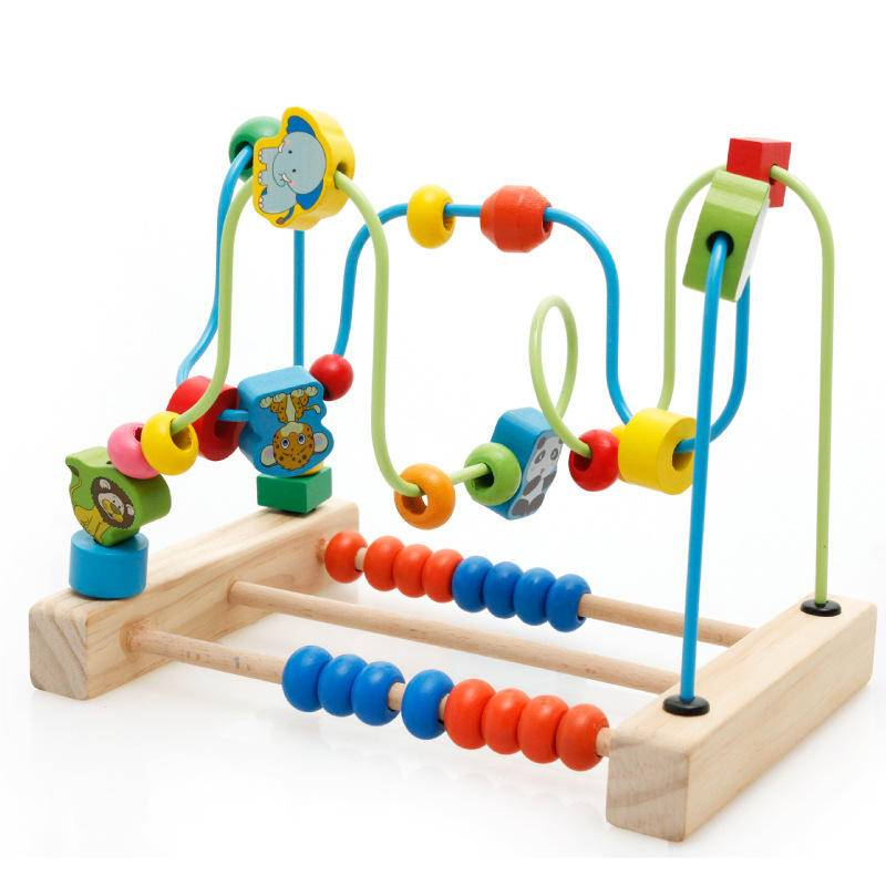 Деревянные развивающие игрушки для детей