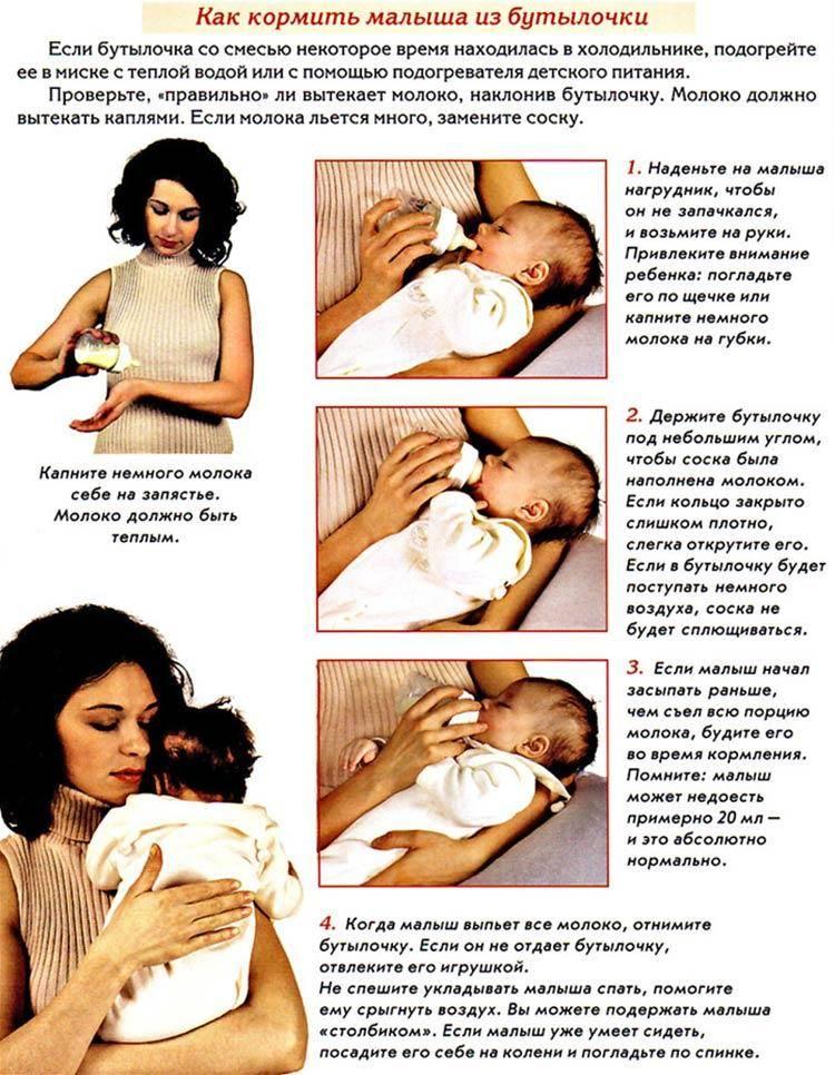 Кормить ли ребенка ночью